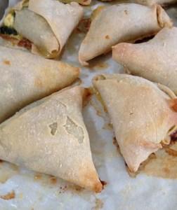 Mediterranean Cooking from the Garden with Linda Dalal Sawaya—spanokopita with gluten free pita