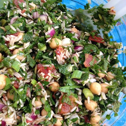 Mediterranean Cooking from the Garden with Linda Dalal Sawaya—How to make Lebanese vegan chard rolls!
