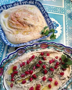 Mediterranean Cooking from the Garden with Linda Dalal Sawaya—a year in the garden!