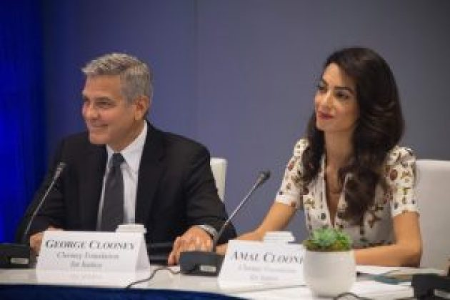 George and Amal Clooney Pledge to Open Schools for Refugees in Lebanon under White House Initiative