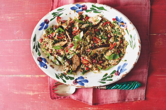 Chicken Freekeh. Image courtesy of Palestine on a Plate