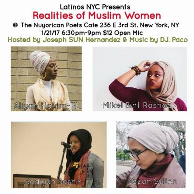 The Realities Of Muslim Women Open Mic