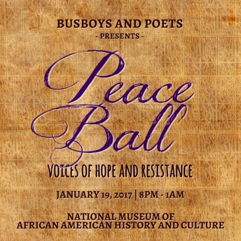 Bus Boys and Poets Peace Ball: Voice of Hope and Resistance