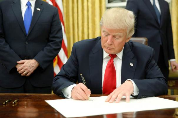 President Trump to Sign Executive Order Banning Refugees and Citizens from Arab Countries