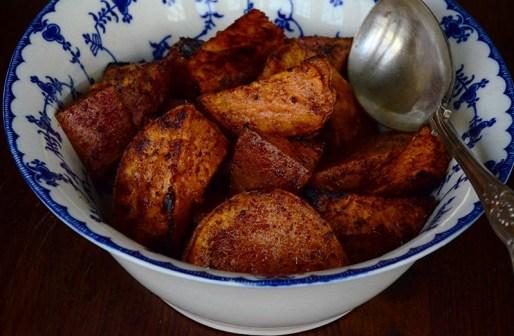 Batata wa Summaq - Potato and Sumac Appetizer