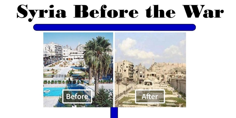 Syria Before The War Event Arab America