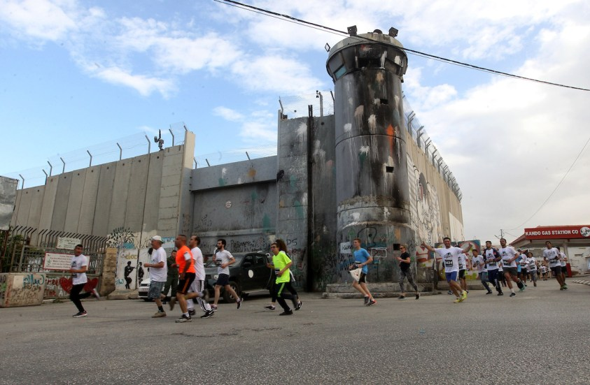 6,000 runners take part in the Palestine Marathon, demand freedom of movement for Palestinians