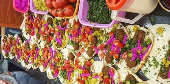 Yalla/Come-on, Let's Eat Like an Arab