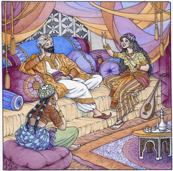 Shahrazad thousand and one nights