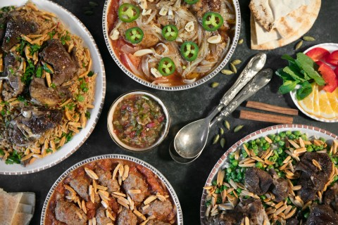 Old Damascus Fare is a New Family-Run Catering Business from Oakland Serving Traditional Syrian Food