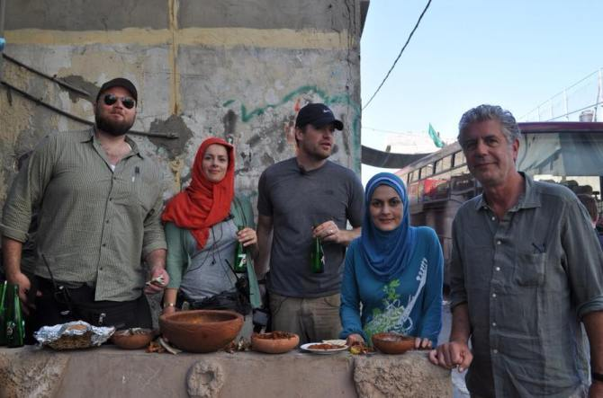 Anthony Bourdain's Eye-Opening Trip to Gaza