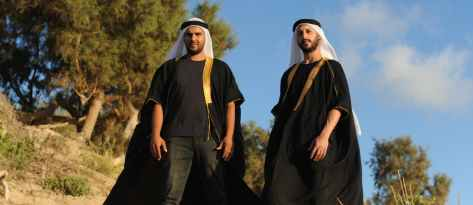With a Kaffiyeh and Synthesizer: The Arab Music Revolution Starts Here