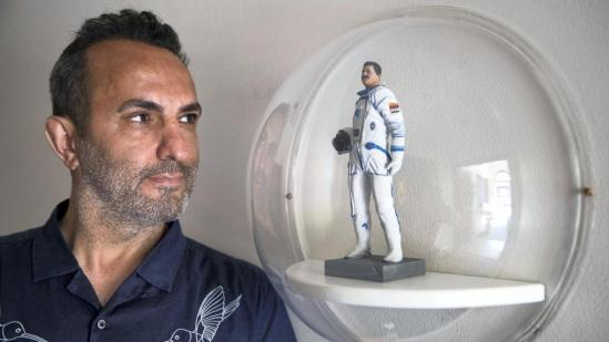 The Syrian Astronaut who is now a Refugee 'Hopes we Can Build Injustice-Free Cities in Space'