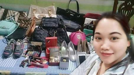Arab Employers Gift Filipina Maid with Designer Bags, Cash