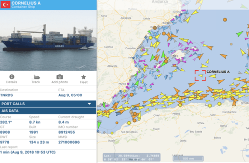 Dockworkers Force Israel-Linked Ship away from Tunisia