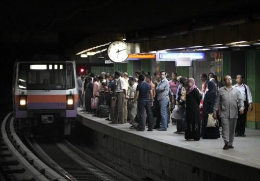 Egyptian Life Reveals Itself on Cairo's Metro