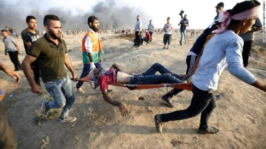 6 Palestinians Killed by Israel Forces in Gaza Clashes, Palestinian Ministry Says
