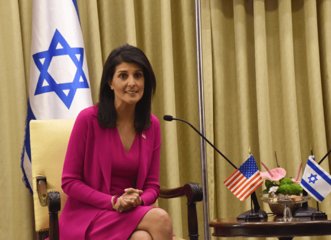 Nikki Haley Hates--No Matter if it's the UN, UNRWA, or Iran
