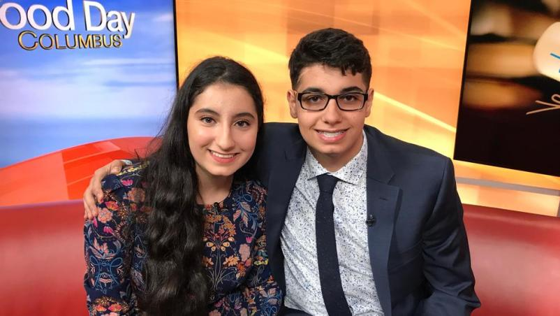 Youngest College Graduates in America: Danya and David Hamad