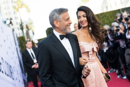George Clooney Draws Big Laughs by Introducing Himself as 'Amal Clooney's Husband'