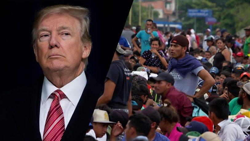 Trump Scapegoats Arabs in Migrant Crisis