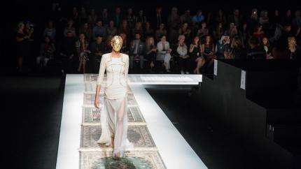 Arab Fashion Week Makes a Triumphant Return