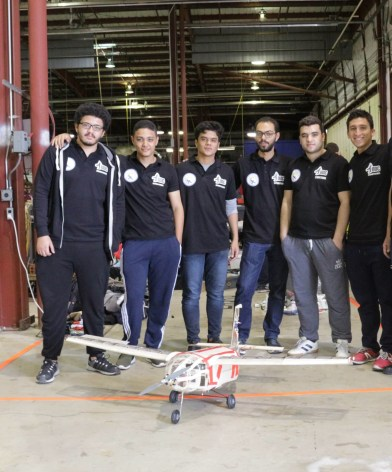 Egyptian Students Beat Stanford and Rank First Place in Aerospace Competition