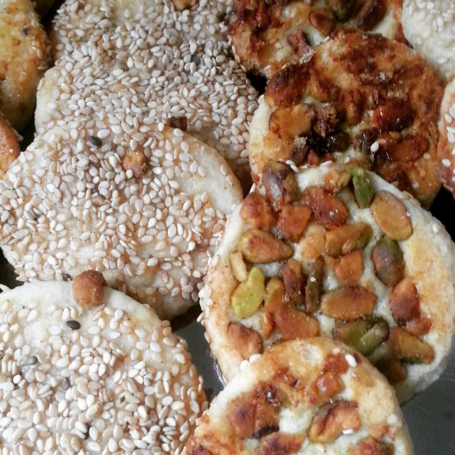 Middle Eastern Holiday Baking--Barazek