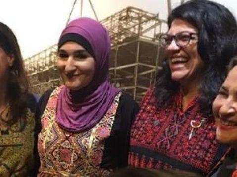 Rashida Tlaib And Linda Sarsour Wear Palestinian Robes To Congress
