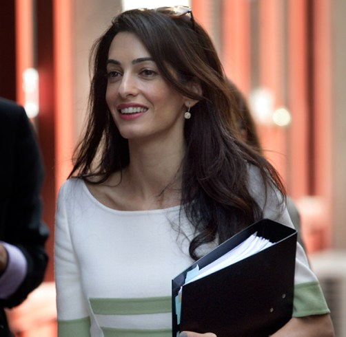 Law Student Bids $8K for Lunch with Amal Clooney at Columbia Auction