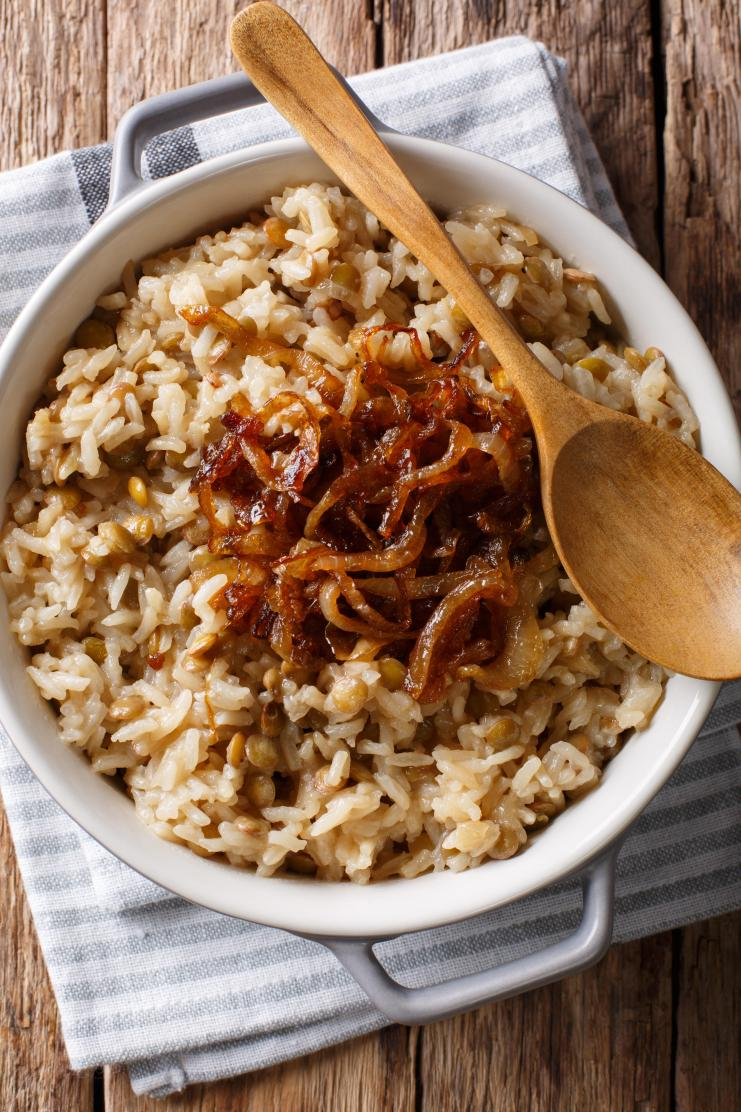"""Mujaddara The """"Beans and Rice"""" of the Middle East"""