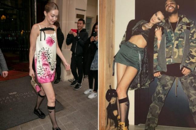 Bella and Gigi Hadid Share the Same $165 Designer Socks