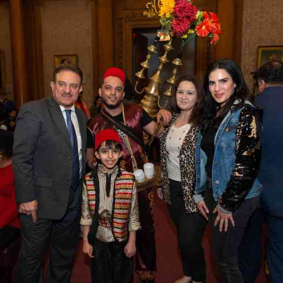 "Heritage Day: Arab-Americans Honored at Borough Hall's ""Embrace Your Hyphen"" Event"