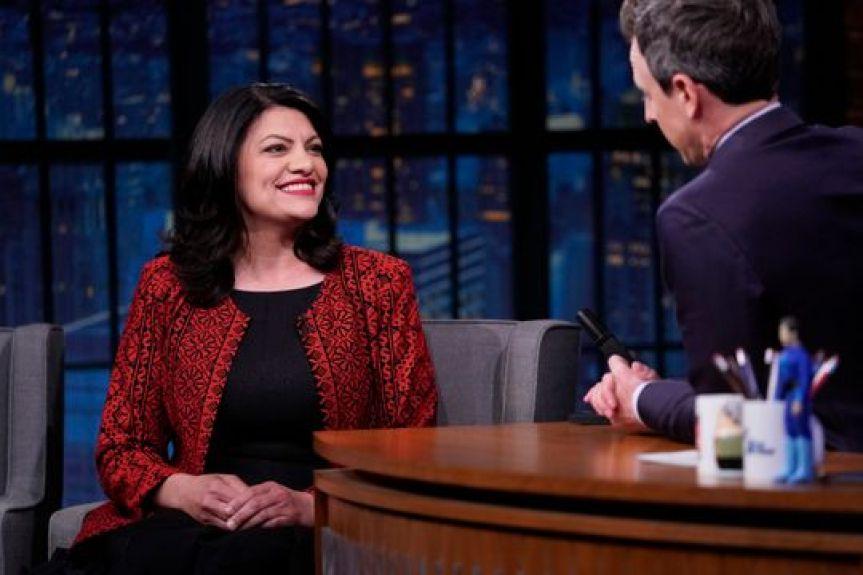 Congresswoman Rashida Tlaib Explains Her Comments with NBC Late Night's Seth Meyers
