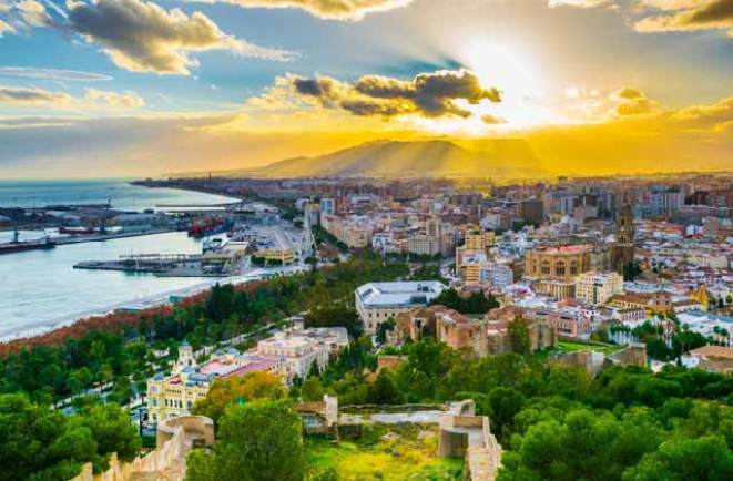 Malaga - Andalusia's City of Gardens, Orchards and Moorish Charm