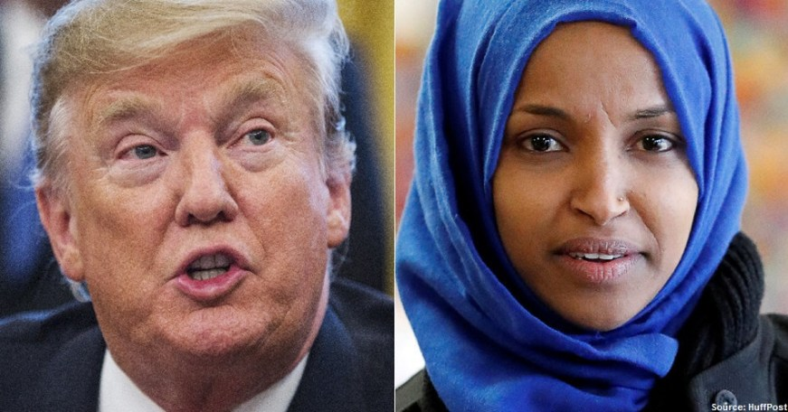 """""""Send Her (Omar) Back"""" vs. """"Welcome Home Ilhan"""": Who Will Win This Epic Battle? Will Reason & Justice Prevail Over Racism and Islamophobia?"""