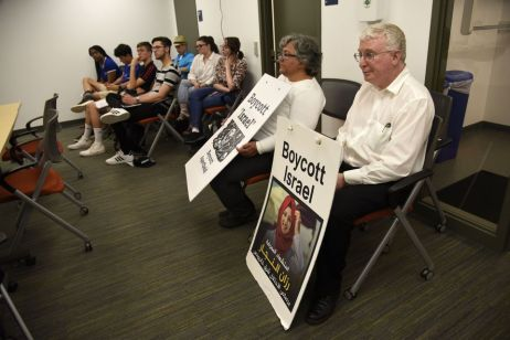 Anti-Israel Protesters Convince Ann Arbor to Take up Issue