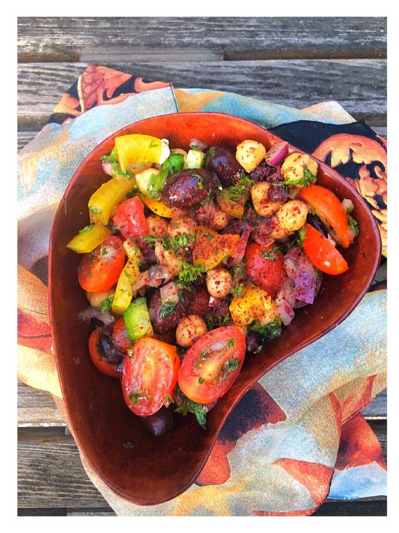 Salata Balela--The Versatile Salad of Egypt