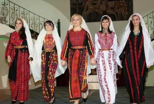 The Traditional Clothing of Palestine