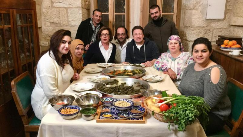 How a Palestinian chef convinced Jamie Oliver to Visit the West Bank for New Cookery Show