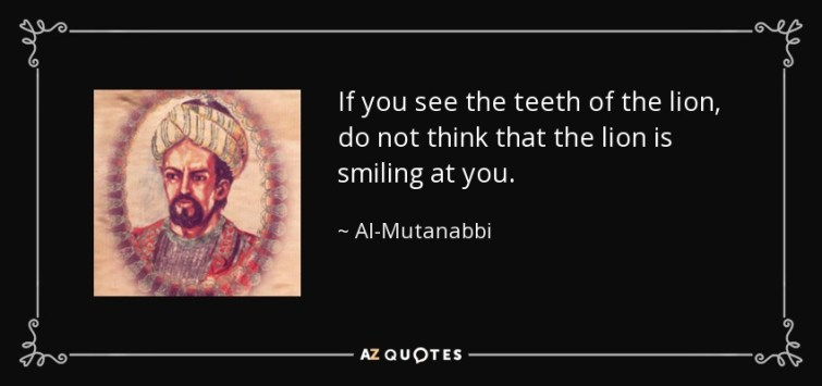 Who was the Arab Poet Al-Mutanabbi and Wh¥ was He Influential?