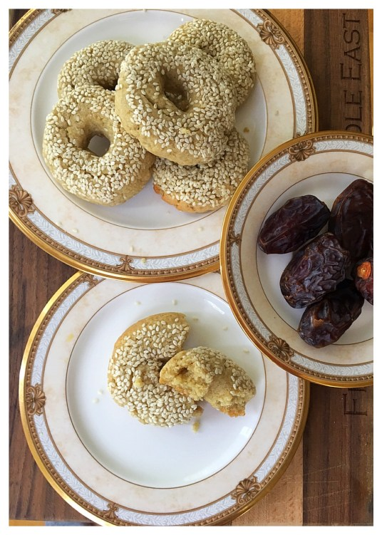 The Cookie that Soothes the Tummy- Ka'ak Bi Yansoon--Anise Sesame Cookies