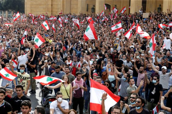 Lebanese and Iraqi Protests Confront Iran's Ambitions