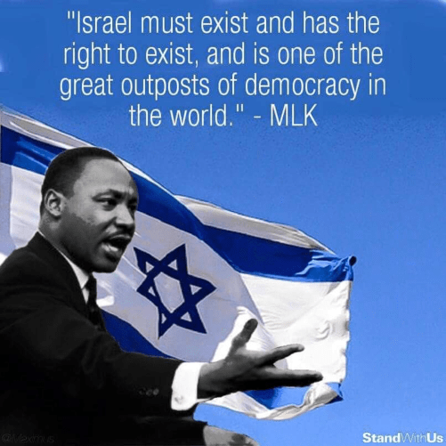 Image: Would King have seen Israel as a model democracy had he lived longer? (photo printerest.com)