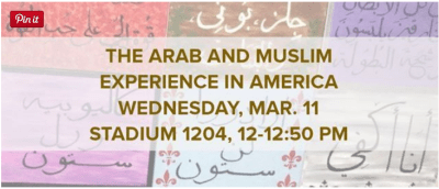The Arab and Muslim Experience in America