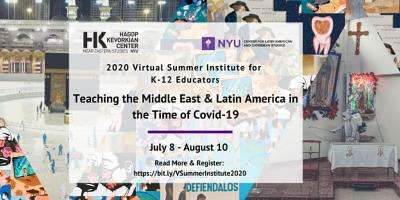 Teaching the Middle East and Latin America in the time of COVID-19