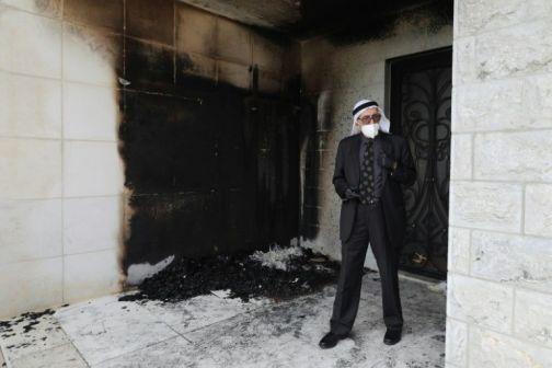 Fire, Anti-Arab Graffiti Damage West Bank Mosque