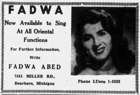 Greater Syrian Diaspora at 78RPM: Fadwa Abeid