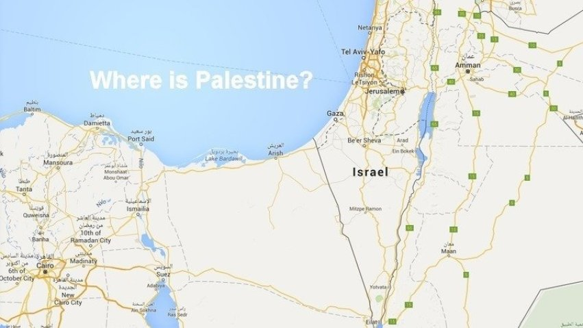 Palestine Has Never Been on Apple or Google Maps