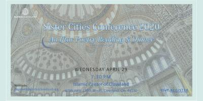 Sister Cities - Iftar Poetry Reading and Dinner
